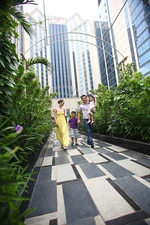 คราวน์ พลาซ๋า เวสท์ ฮานอย: Crowne Plaza West Hanoi exterior garden