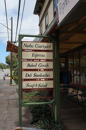 カパアウ, ハワイ, お店の前に看板がありますのでわかりやすいです