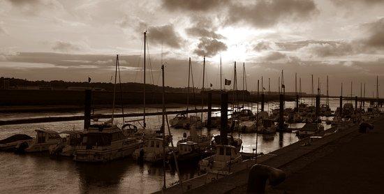 Etaples, Francia: Vue du port