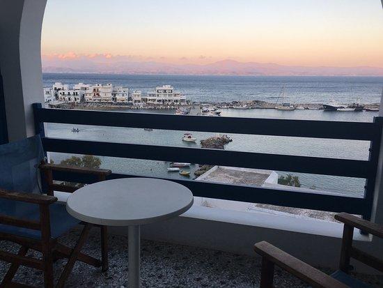 Corali Hotel: Vue de notre chambre