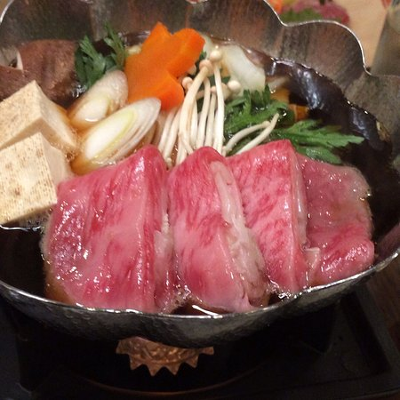 Yonezawa, Japan: 昼の膳 牛鍋御膳
