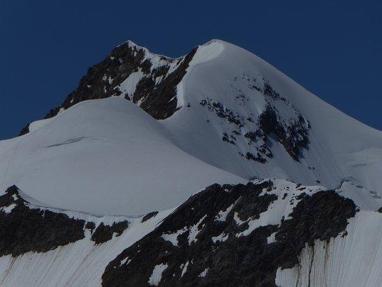 Tiefenbachbahn: Blick zur Wildspitze
