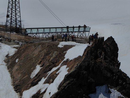Tiefenbachbahn: Aussichtskanzel an der Bergstation