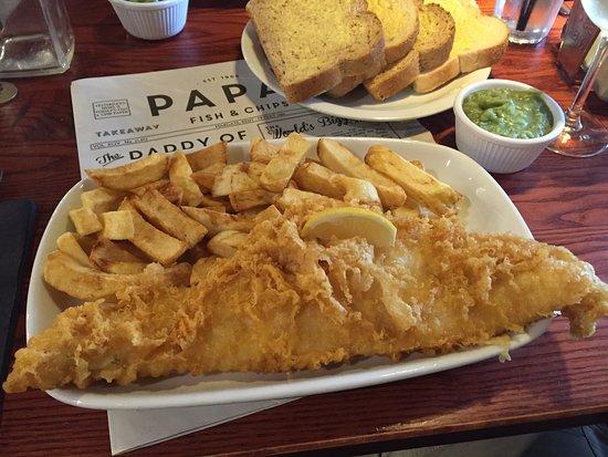 papas fish chips ウィラービー papas fish and chipsの写真