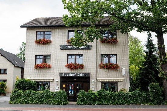 Hoevelhof, Allemagne : ... auf dem ersten Blick, würde man dort nur ein Gashaus erwarten.