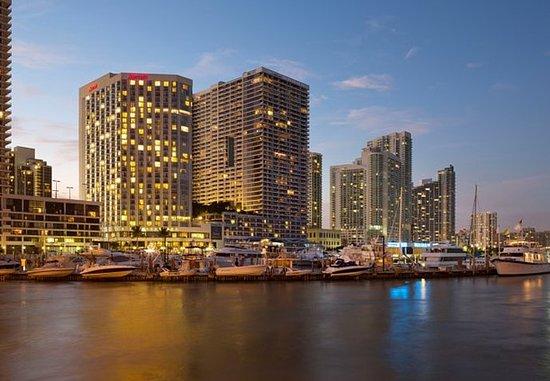 Miami Marriott Biscayne Bay: Biscayne Bay View