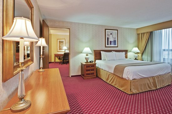 Rosemont, IL: Holiday Inn Express King Bed Executive Suite