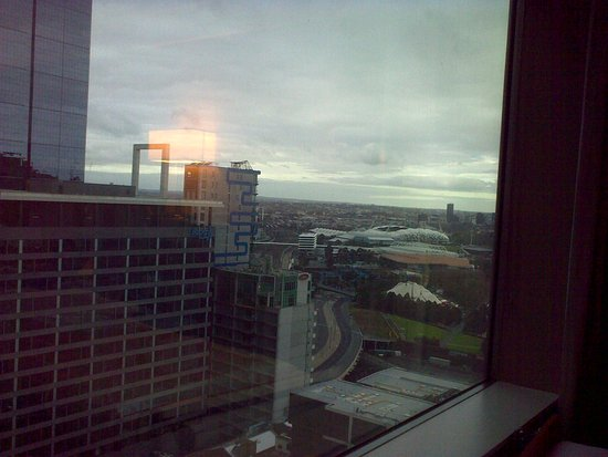 Grand Hyatt Melbourne: View from right edge of window