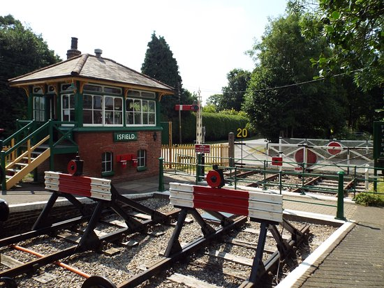Isfield, UK: Signal Box
