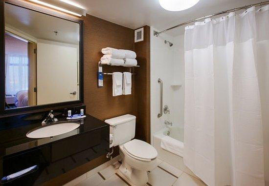 East Rutherford, NJ: Suite Bathroom