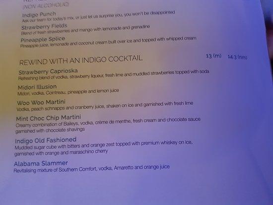 The Entrance, Avustralya: Cocktails