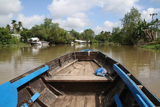 Can Tho, Vietnam: Mekong Delta - small canal trip