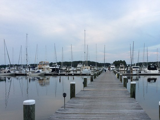 Rock Hall, MD: The Marina at the Inn at Osprey Point