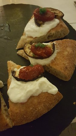 Реццато, Италия: Pizza Parmigiana 2.0