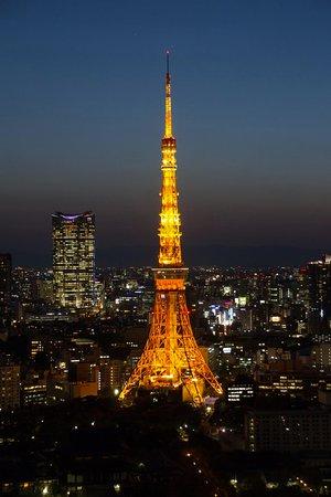 Minato, Japan: Tokyo Tower bei Nacht