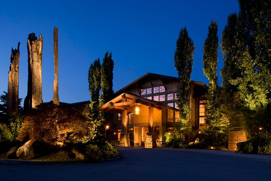 Woodinville, WA: Willows Lodge Exterior Evening