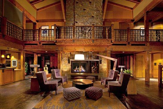 Вудинвилл, Вашингтон: Willows Lodge Lobby