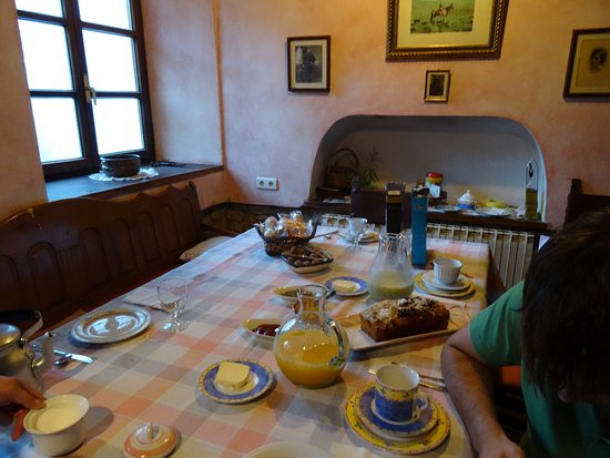 Errigoiti, إسبانيا: Frühstücksraum