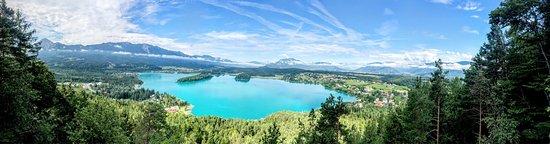 Ledenitzen, ออสเตรีย: Wunderschöne Aussicht