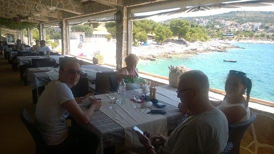 terrazza sul mare - Picture of Bila Lucica, Primosten - TripAdvisor