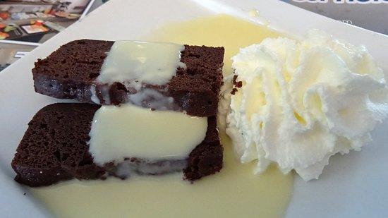 Rochefort, Frankreich: le fondant au chocolat