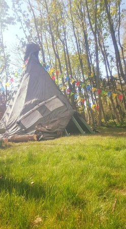 Cheshire, UK: Tipi