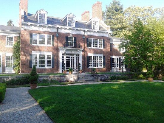 Canton, MA: Rear of house