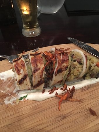 Маунт-Гамбир, Австралия: Another great night & meal at my favourite Mt. Gambier eatery! Stuffed squid tube entree followe