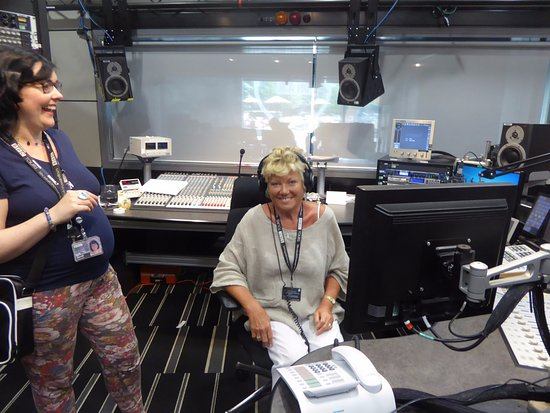 Salford, UK: Teresa in the Chair