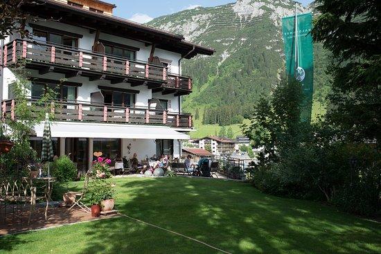 Hotel Haldenhof: The garden
