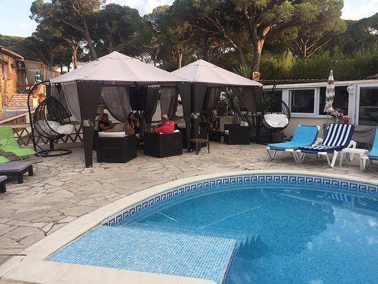 Hotel l'Amphore de l'Escalet : piscina y zona relax
