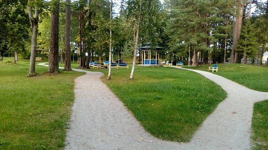 Narva, إستونيا: Парк