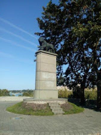 Narva, إستونيا: Лев собственной персоной!