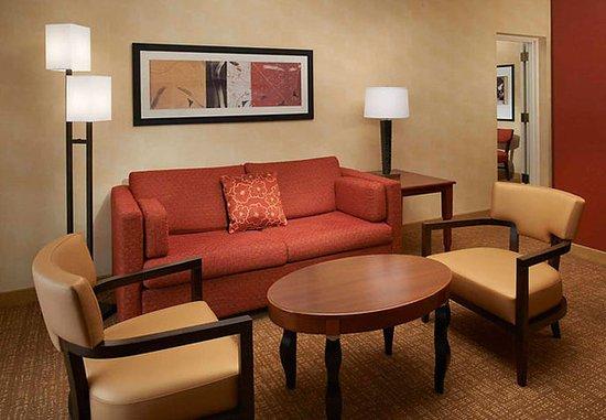 Waukegan, إلينوي: Suite Seating Area
