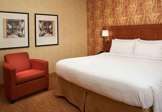 Waukegan, إلينوي: King Suite Bedroom
