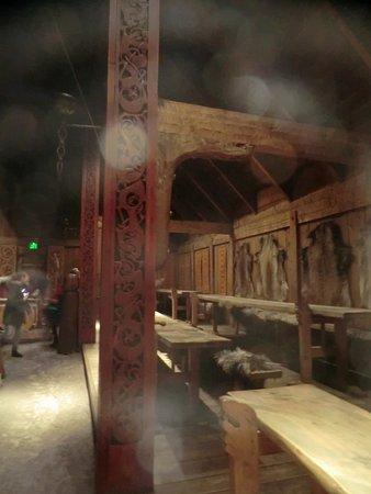 Vestvagoy, Norveç: Innenraum des alten Hauses