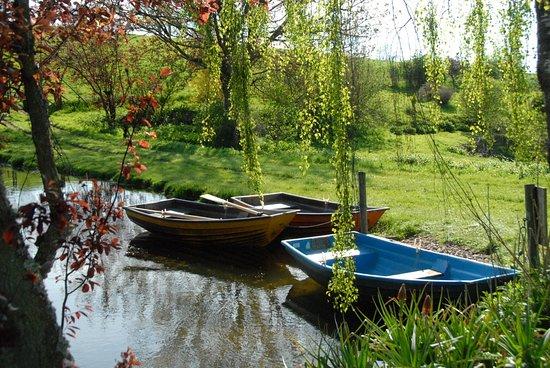 Batcombe Vale Campsite: Boats
