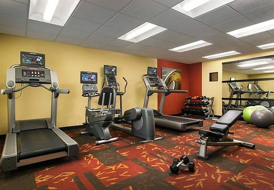 San Bruno, Californien: Fitness Center
