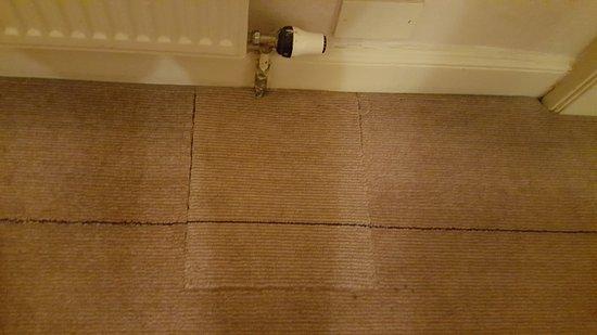 Hilton Edinburgh Grosvenor: room carpet