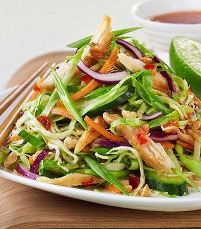 Poughkeepsie, État de New York : Asian Chicken Salad