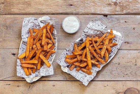 Buckinghamshire, UK: Sweet Potato Fries