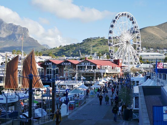 Awesome View From The V A Waterfront Ferris Wheel Picture Of Victoria Alfred Waterfront
