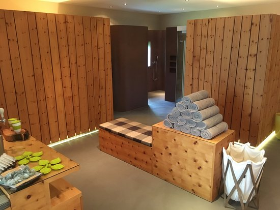 Ftan, Schweiz: Saunabereich