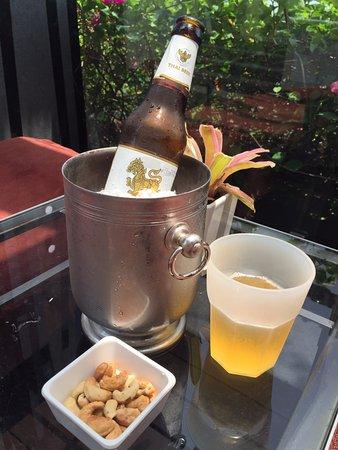 The St. Regis Bangkok: Beer at the Pool Bar
