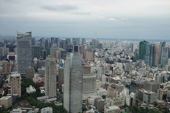 Minato, Japan: View from the higher deck