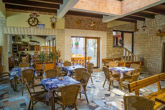 Krnica, Kroatië: Restaurant PortoRiko 1