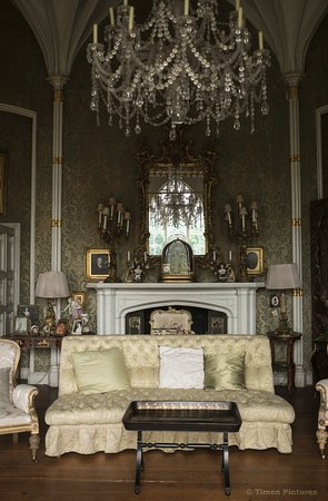 Birr, Irlanda: Inside the castle in the saloon