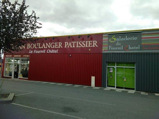 Chatellerault, Francia: Fournil Chatel