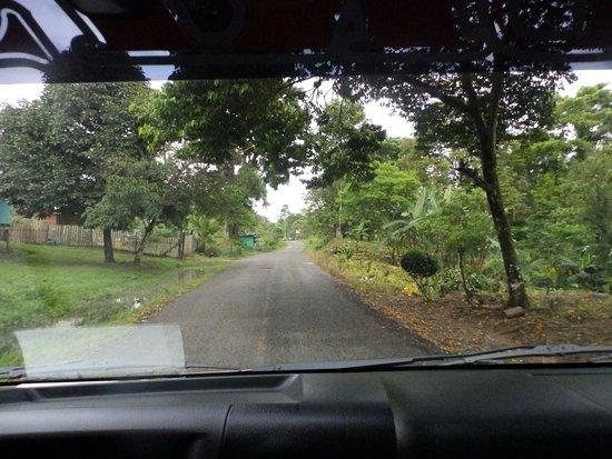 Ruta desde Boca del Drago a Bocas Town