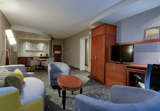Farmingdale, NY: King Suite - Living Room